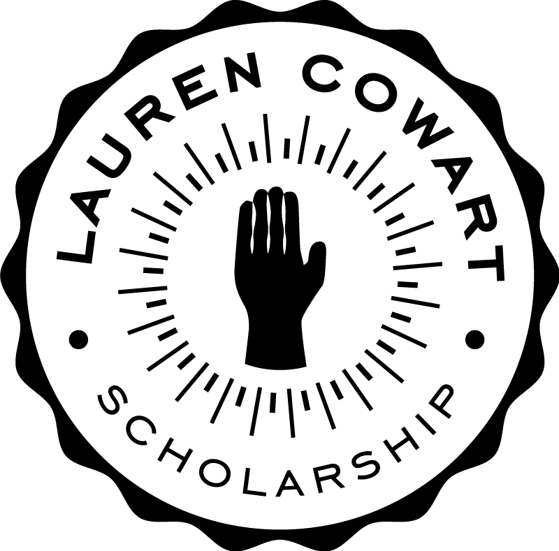 The Lauren Cowart Memorial Scholarship Logo